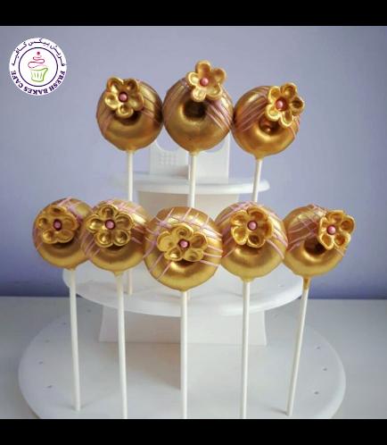 Donut Pops - Flowers 01