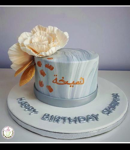 Cake - Peonies 01