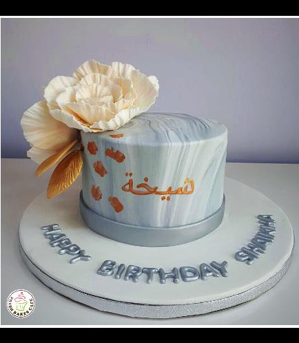 Cake - Peonies 04