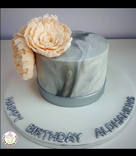 Cake - Peonies 04a