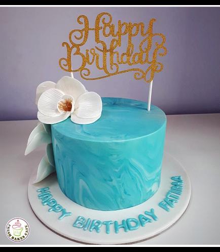 Cake - Orchids 09c