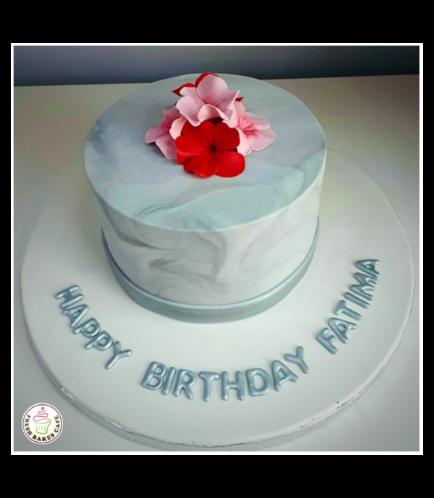 Cake - Flowers 01