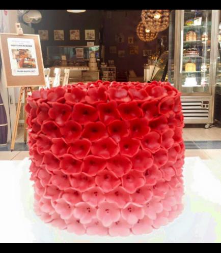 Fondant Ombre Cake 04