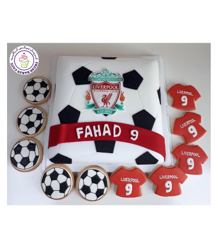 Football Themed Cake - Liverpool 04b