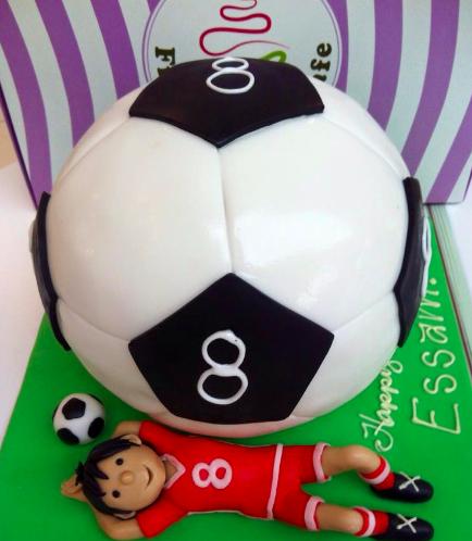 Football Themed Cake 1