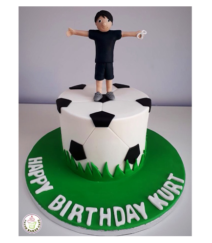 Football Themed Cake 06b