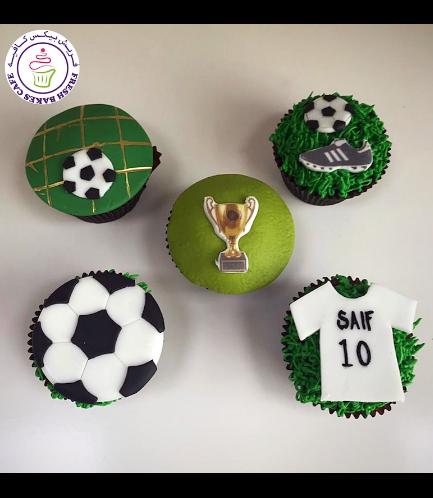 Football Themed Cupcakes 03