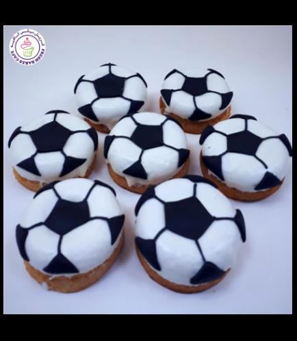 Football Themed Donuts