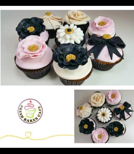 Cupcakes - Flowers 02