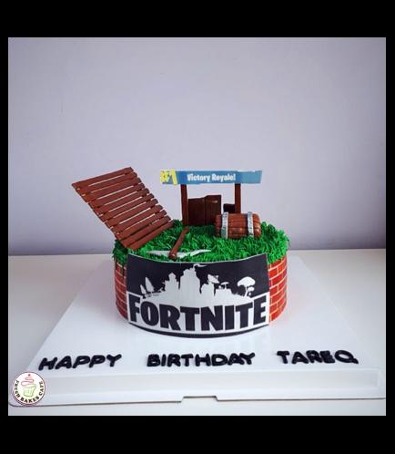 Cake - 3D Cake Toppers - Cream Cake - Round 01