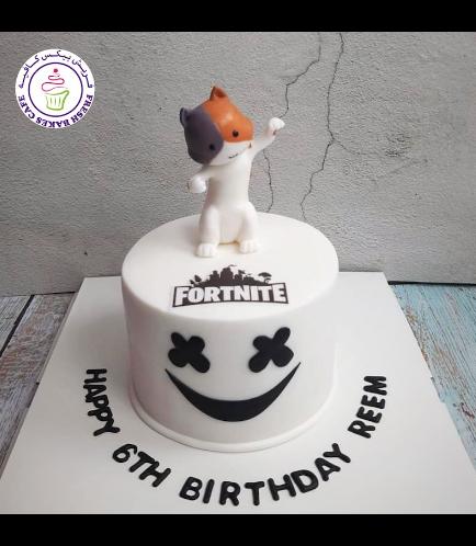 Cake - 3D Character - Cat