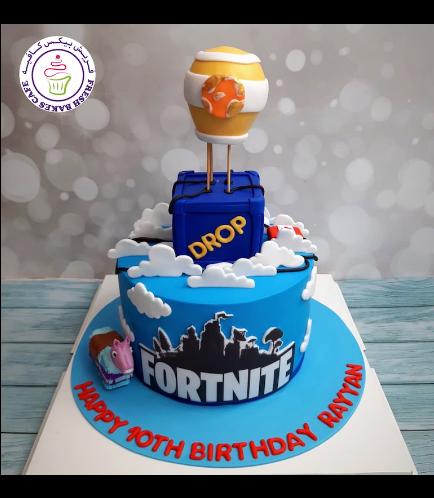 Cake - Hot Air Balloon - 3D Cake Topper