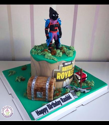 Cake - Raven - 3D Cake Topper 01