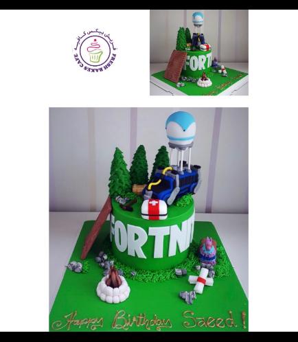 Fortnite Themed Cake 12