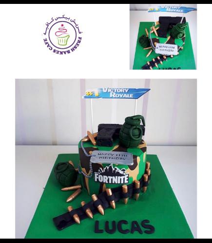Fortnite Themed Cake 13