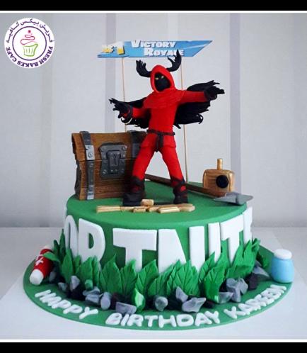 Fortnite Themed Cake 14a