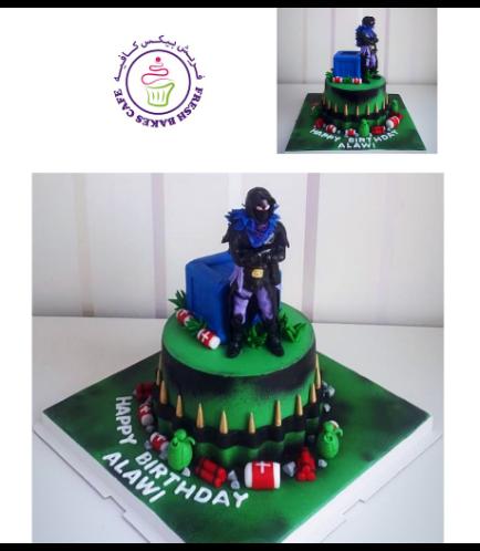 Cake - Raven - 3D Cake Topper 02