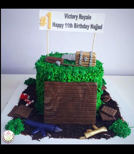 Cake - 3D Cake Toppers - Cream Cake - Round 03