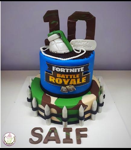 Fortnite Themed Cake 03