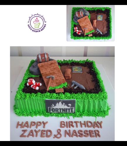 Fortnite Themed Cake 05