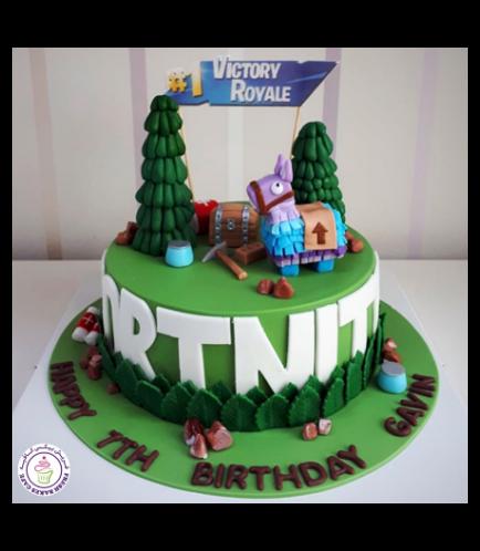 Fortnite Themed Cake 06
