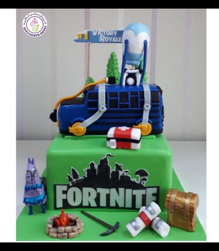 Fortnite Themed Cake 07a