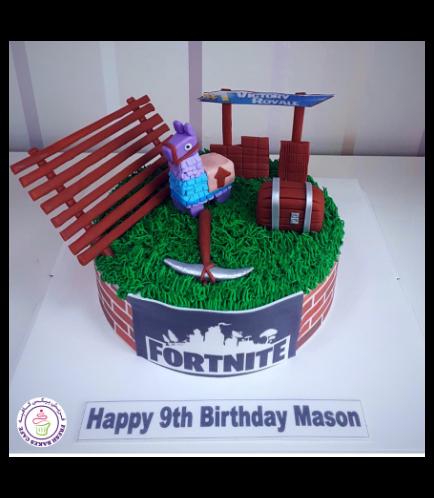 Cake - 3D Cake Toppers - Cream Cake - Round 02