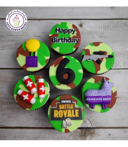 Cupcakes - Fondant Toppers 07