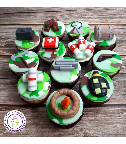 Cupcakes - Fondant Toppers 08