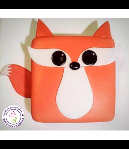 Fox Themed Cake - 2D Cake