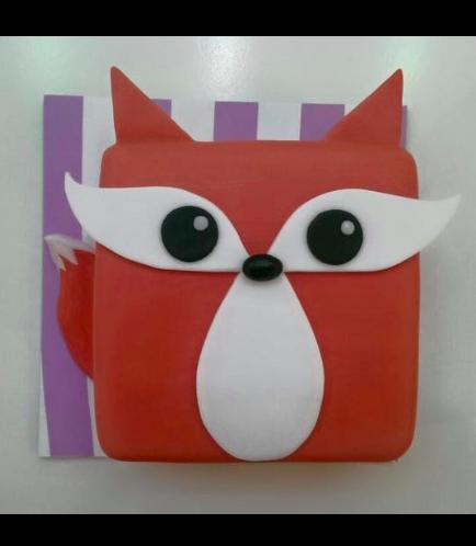 Fox Themed Cake 01