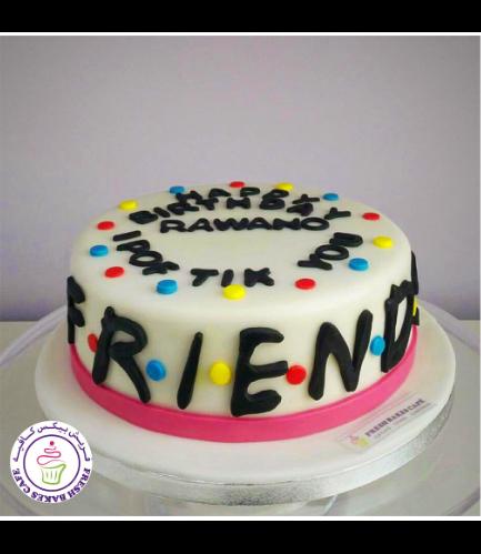 Friends Themed Cake - Logo