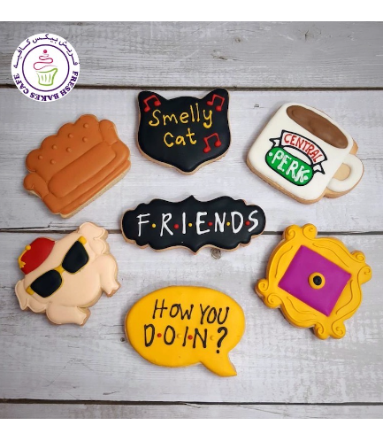 Friends Themed Cookies 01