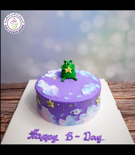 Frog Themed Cake - 3D Cake Topper 02