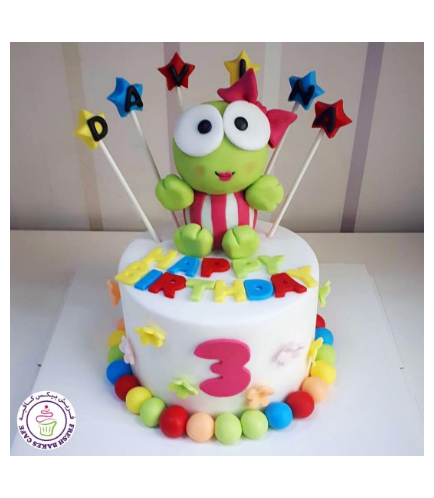 Frog Themed Cake 02
