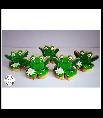 Frog Themed Cookies - 3D Cookies