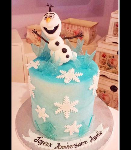 Frozen Themed Cake 13