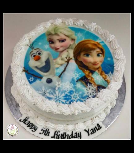 Frozen Themed Cake 03a
