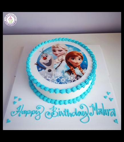 Frozen Themed Cake 03b