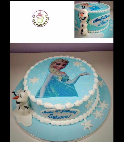 Frozen Themed Cake 06