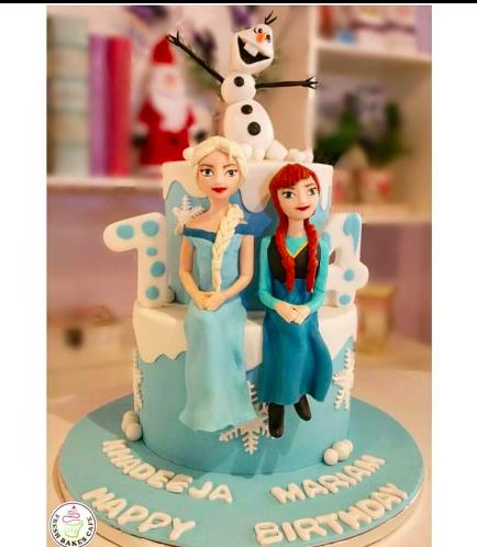 Frozen Themed Cake 09