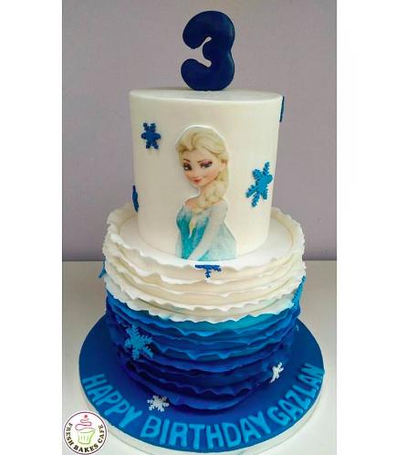 Frozen Themed Cake 16a