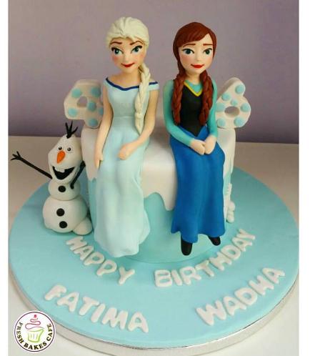 Frozen Themed Cake 08