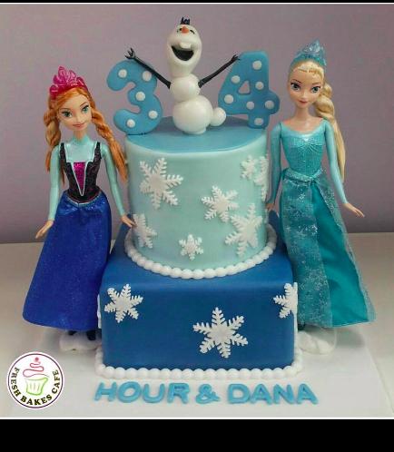 Frozen Themed Cake 10