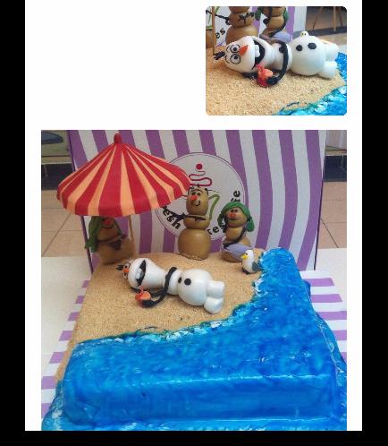 Frozen Themed Cake 19