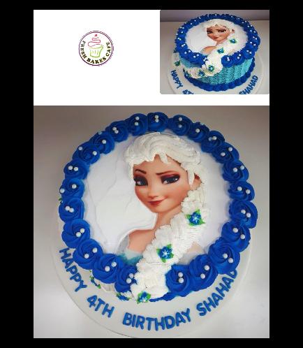 Frozen Themed Cake 20b