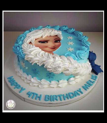 Frozen Themed Cake 20c