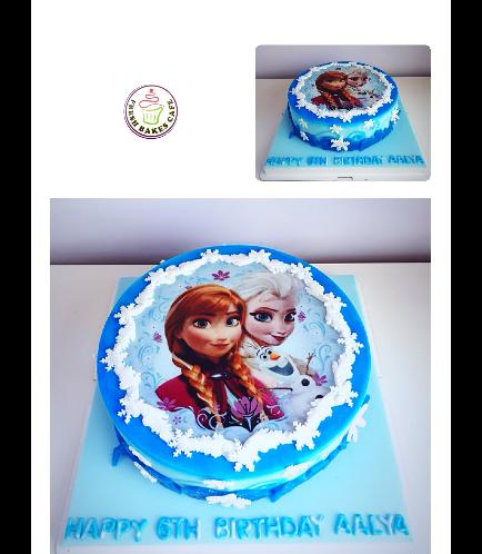 Frozen Themed Cake 04