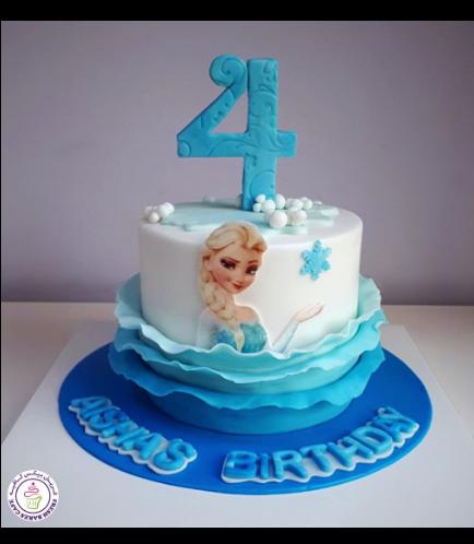 Frozen Themed Cake 24