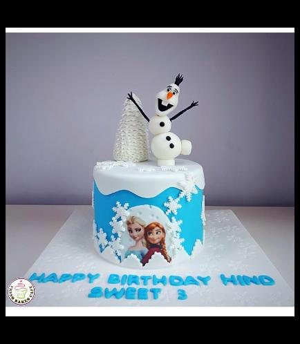 Frozen Themed Cake 25